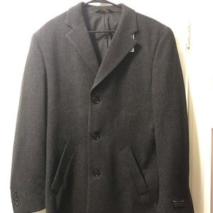 JoS A Bank tailored fit long wool coat